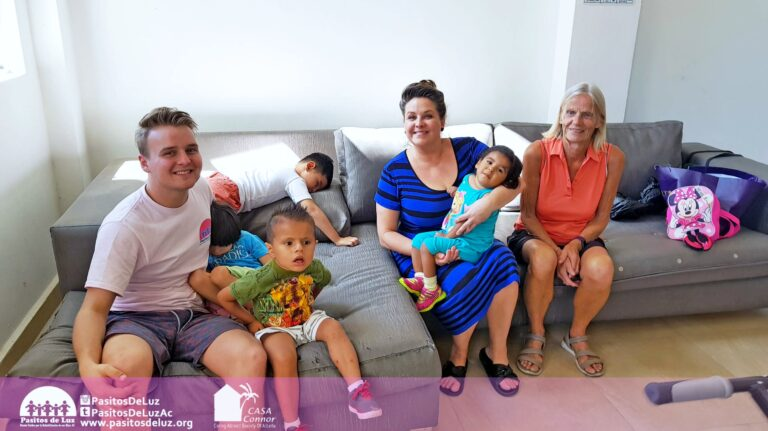 Max and I with Casa Connor kids and founder Teena