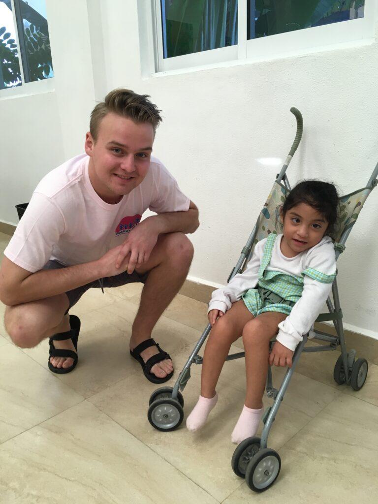 My son Max with my favorite Xochiti
