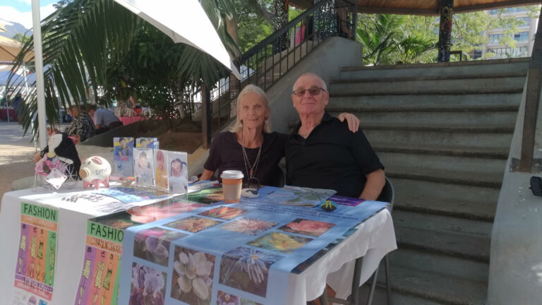 Teena and Peter Oudman, Casa Connor Founders